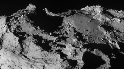 Снимок кометы 67P/Чурюмова— Герасименко саппарата «Розетта»