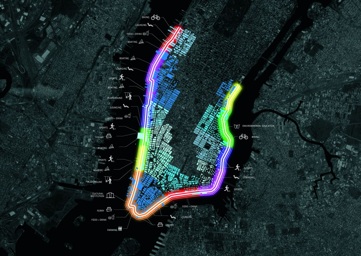 Проект защитных сооружений, Нью-Йорк