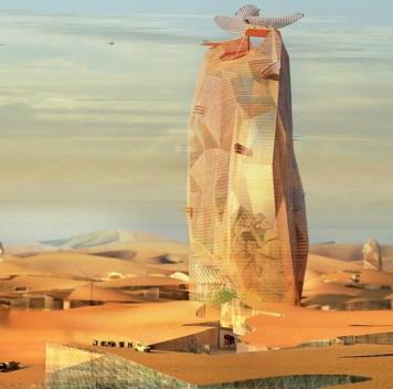 Оазис впустыне. Проект вертикального города