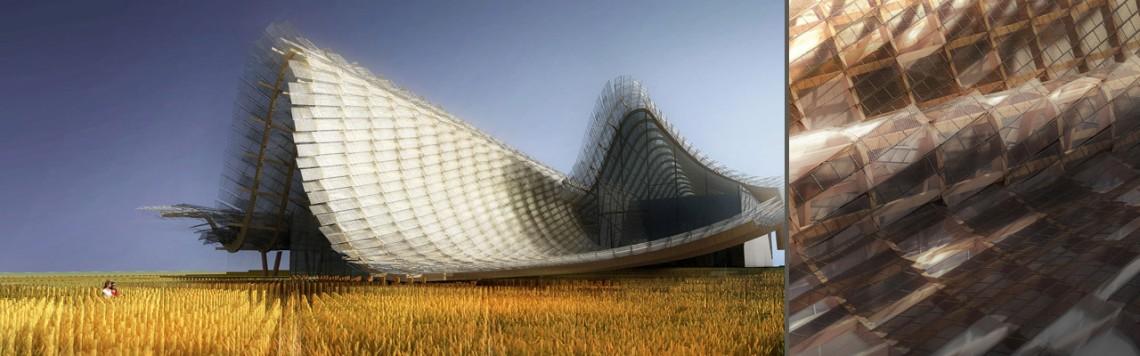 Китайский павильон для Expo 2015, Милан. Концепт-дизайн.