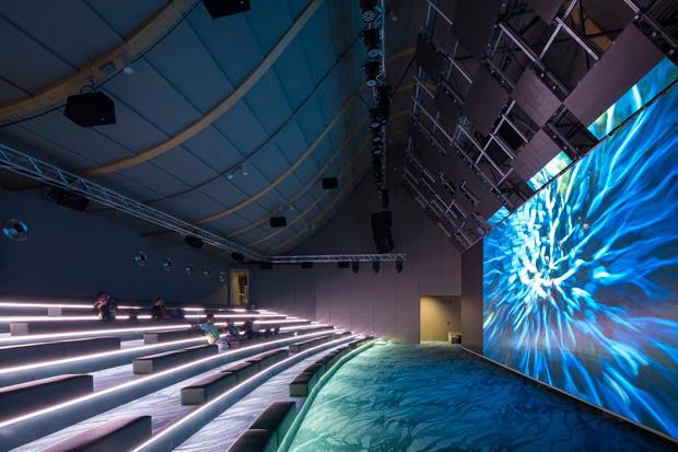 Expo 2015. Китайский павильон. Конференц-зал.