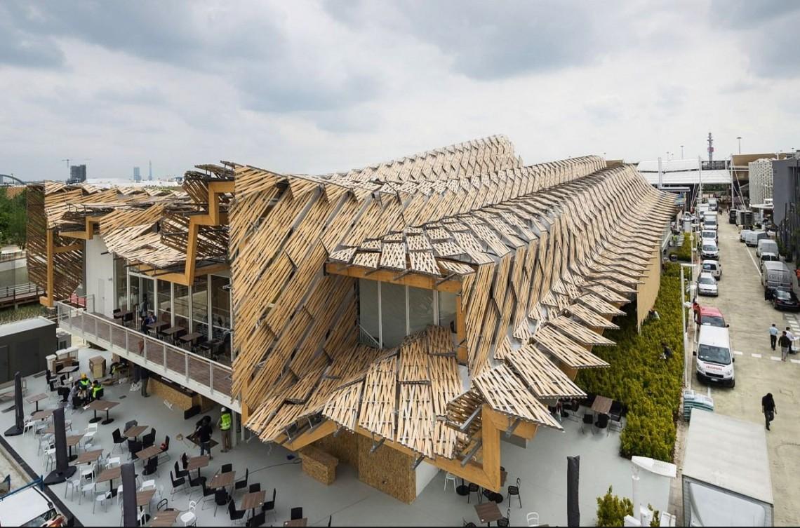 Китайский павильон наExpo 2015, Милан.