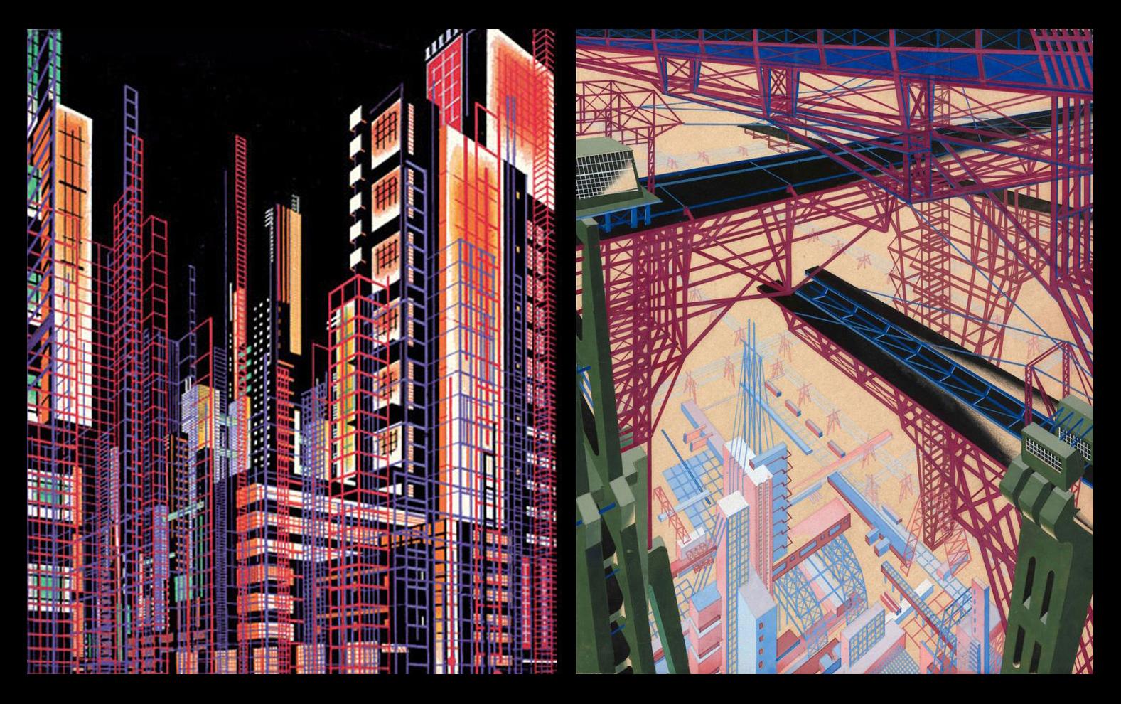 Я. Чернихов. Архитектурные фантазии. 1929—1933 гг.