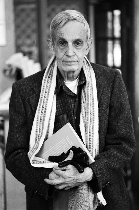 Джон Нэш, 2000-е годы. Фотография Питера Бэджа (Peter Badge).