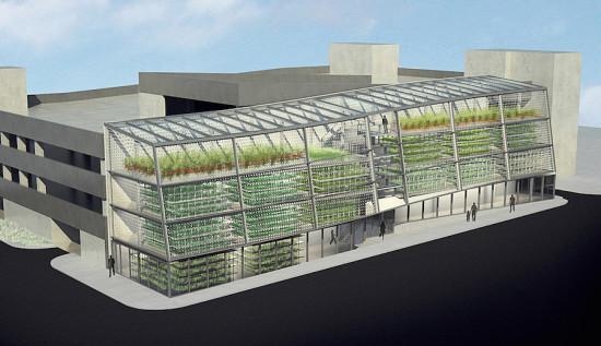 Проект вертикальной фермы, которая будет построена вг. Джексон