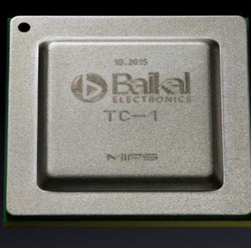 Представлен российский многоядерный процессор «Байкал-Т1»