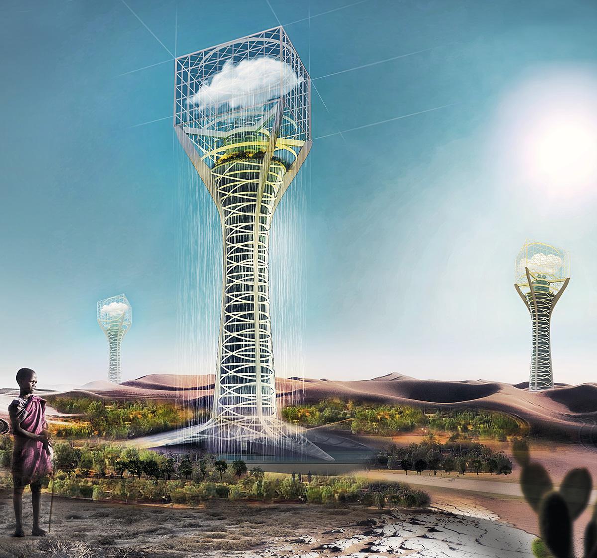 Строить искусственные погодные станции предлагается взасушливых регионах планеты.