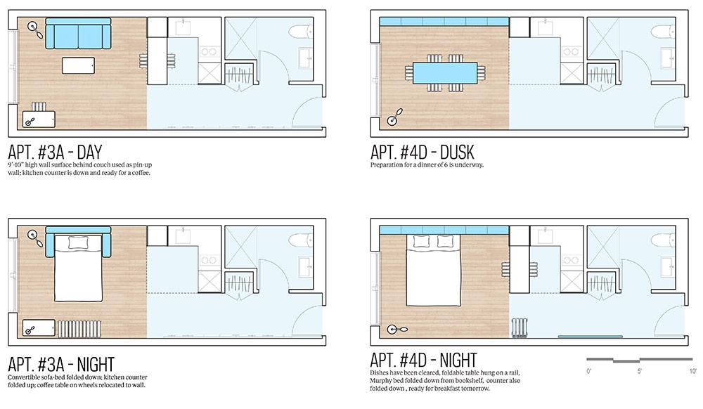 Микро-апартаменты вНью-Йорке