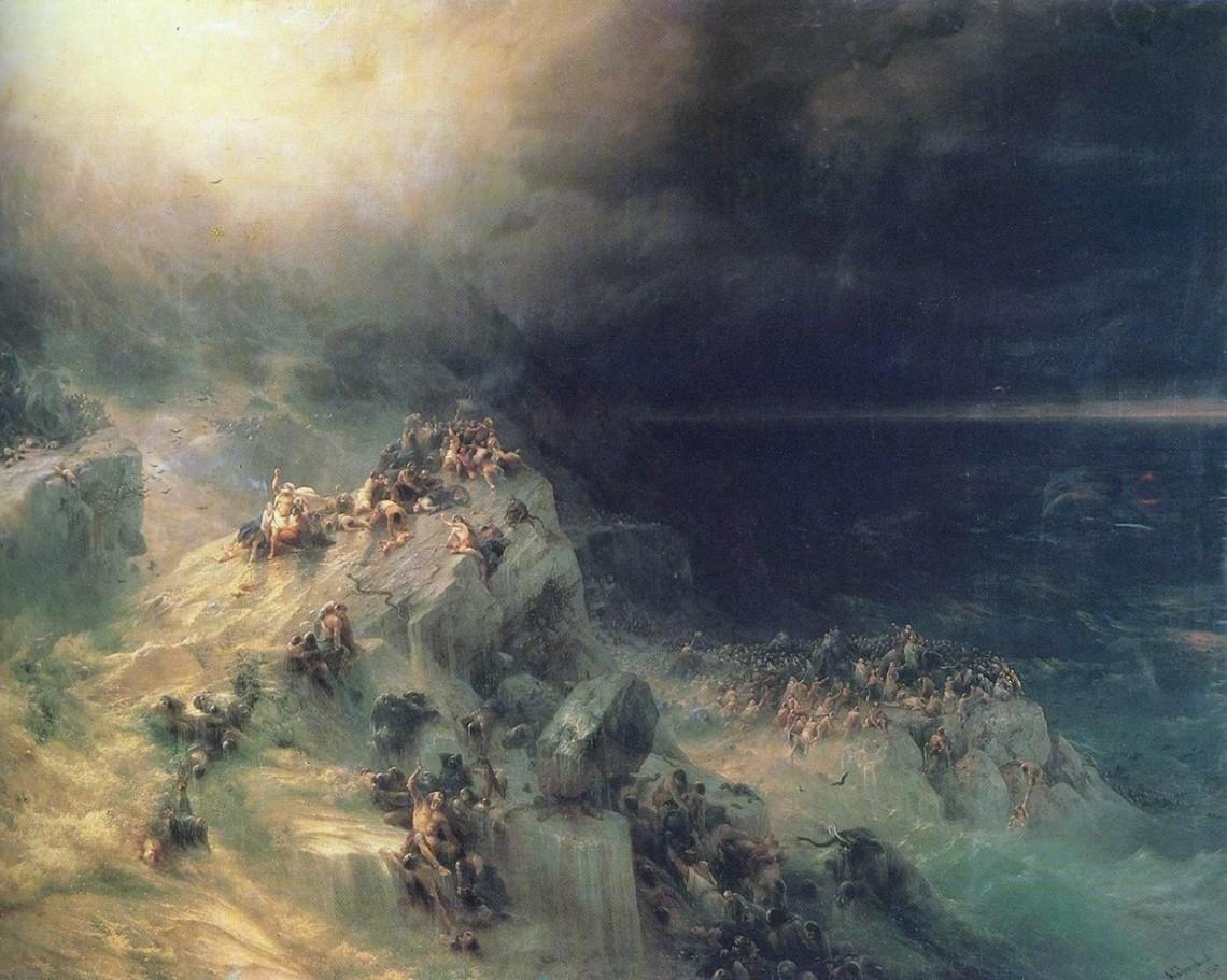 Иван Айвазовский. Всемирный потоп, 1864