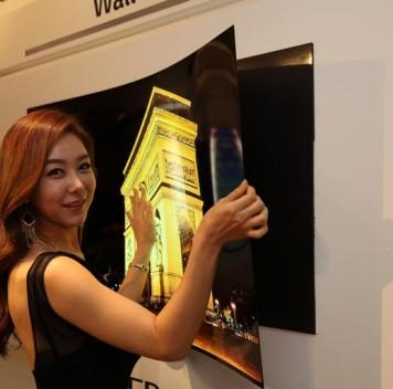 LG представила телеэкран толщиной менее 1мм