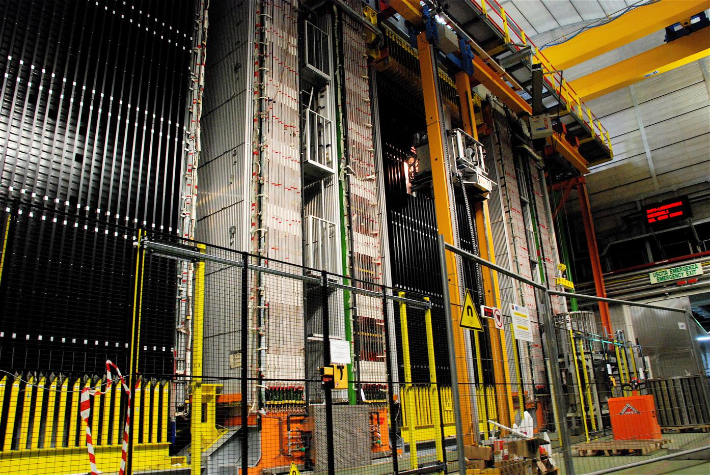 Детектор тяжёлых нейтрино вэксперименте OPERA.