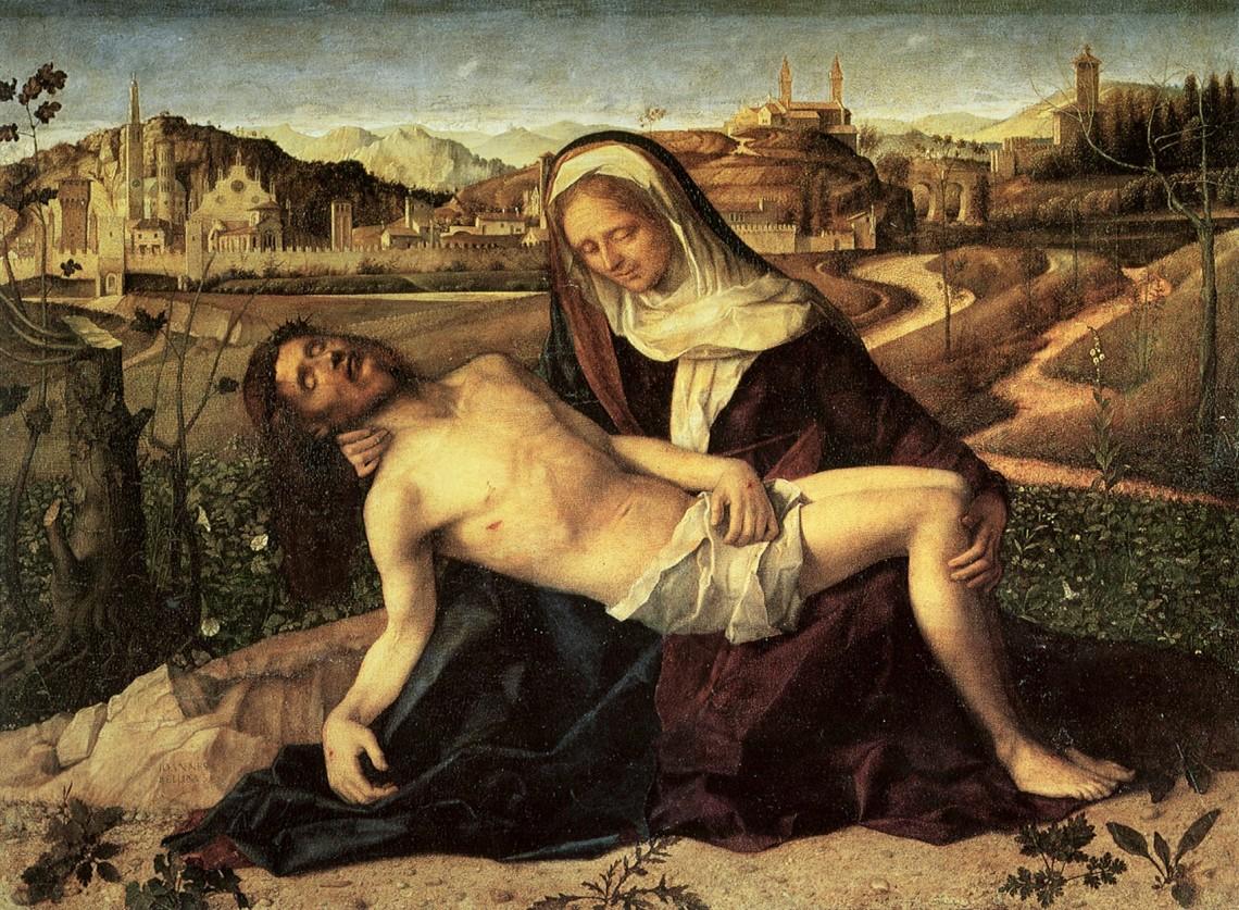 Джованни Беллини. Пьета. 1500—1514