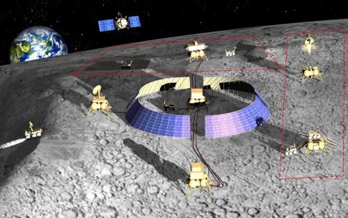 Лунный полигон