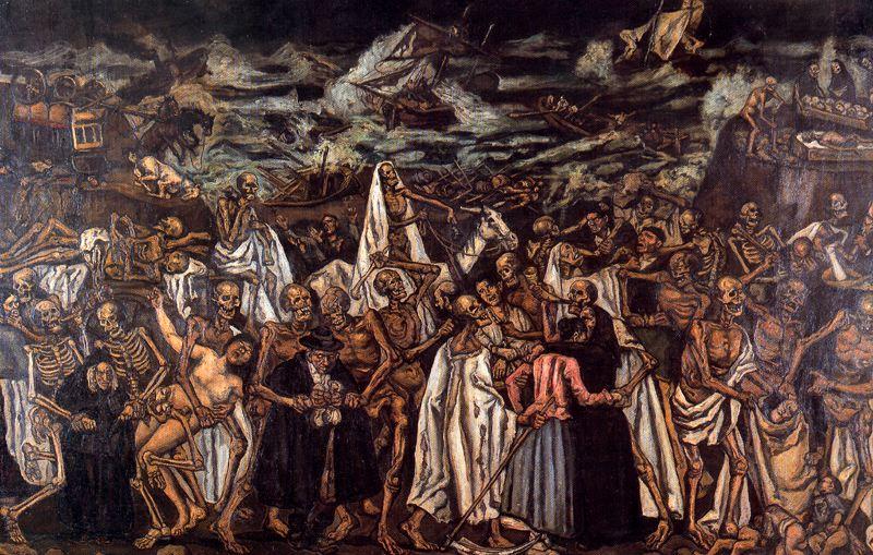 Хосе Гутьеррес Солана. Конец света, 1932