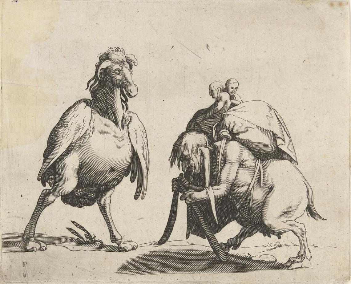 Арент ван Болтен. Гротескные монстры, примерно конец XVI— начало XVII в.