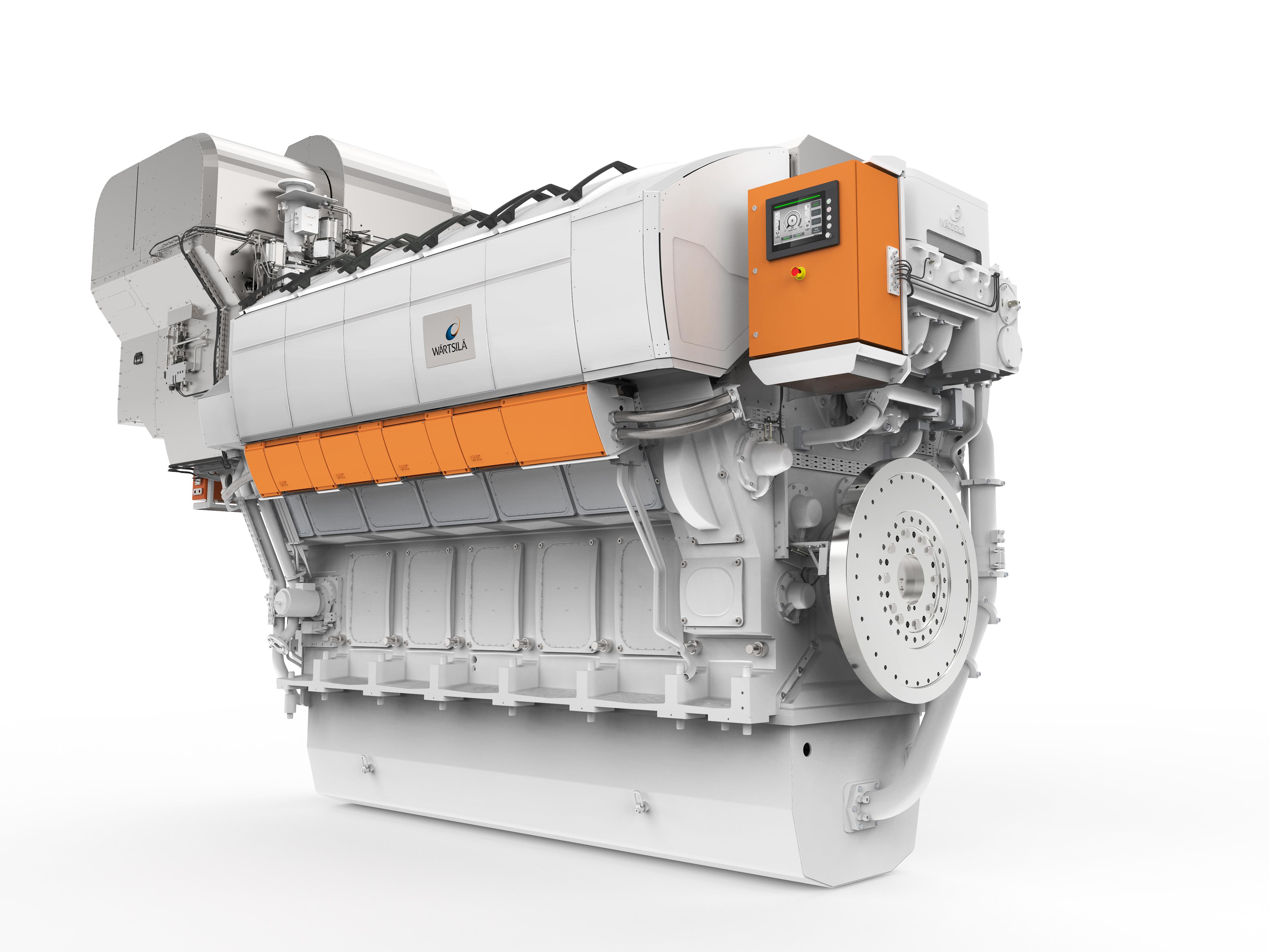 Двигатель семейства <i>Wärtsilä 31</i>.