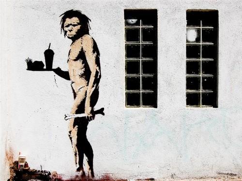 Древние люди наверняка оценили бы питательность фастфуда.