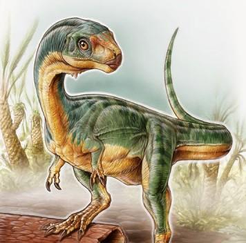 Растительноядный родственник тираннозавра из Чили