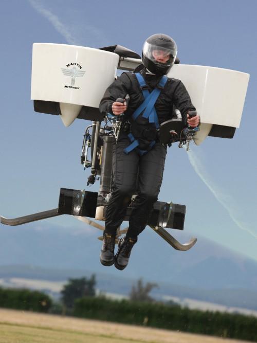 Martin Jetpack P12 вполёте