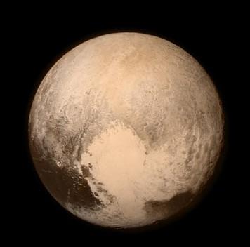 Плутон вдвижении