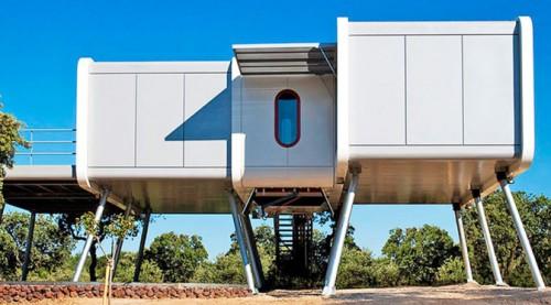 Создавая Spaceship House, архитекторы NOEM черпали вдохновение в«Звёздных войнах»