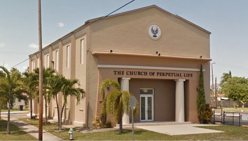 Здание Церкви Вечной Жизни. Изображение из <i>Google Street</i>.