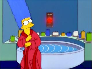 Мардж Симпсон противостоит умному дому