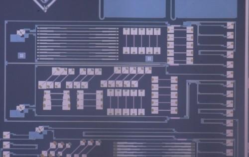 Кремниевый оптический чип, использующийся влазерной доплеровской виброметрии