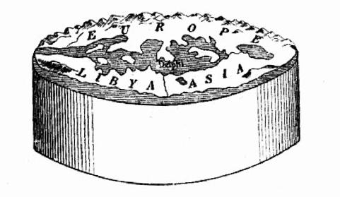 Модель Земли по Анаксимандру
