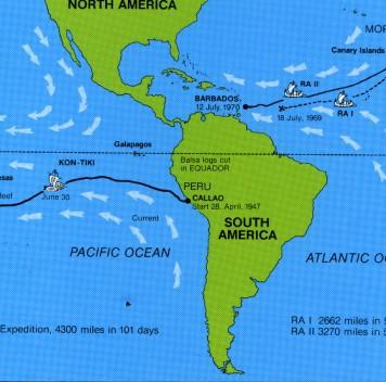 Экспедиция «Кон-ТикиII» соберёт данные озагрязнении Тихого океана