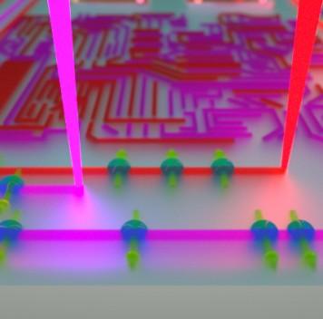 Учёные случайно открыли возможность рисования квантовой электроники при помощи света