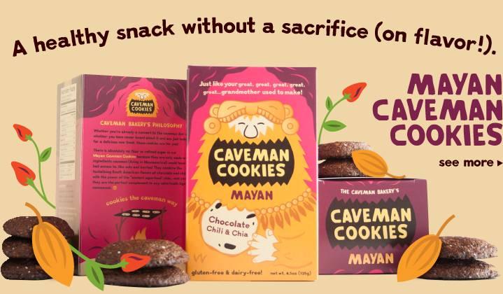 Печеньки пещерного человека. Источник: http://www.cavemancookies.com/