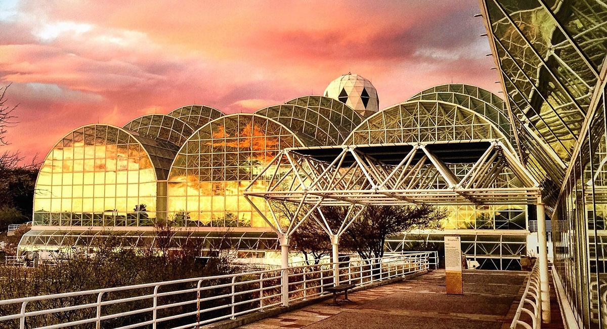 Так Biosphere 2 выглядит внаши дни. Источник: Аризонский университет