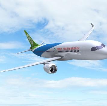 Китай представил собственный среднемагистральный самолёт