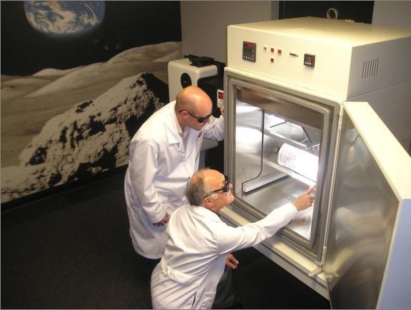Тестовая камера в«марсианской комнате» компании Techshot Inc. Источник: NASA