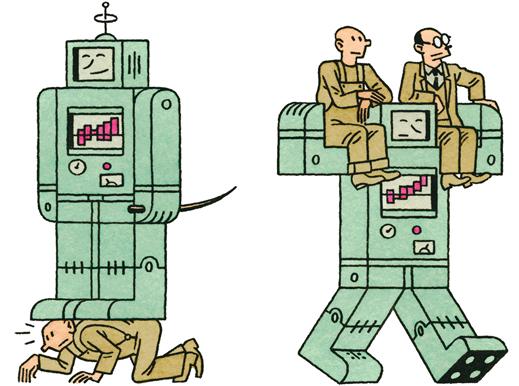 На что будет похоже полностью роботизированное будущее— нагиперкапиталистическую антиутопию или насоциалистический рай?