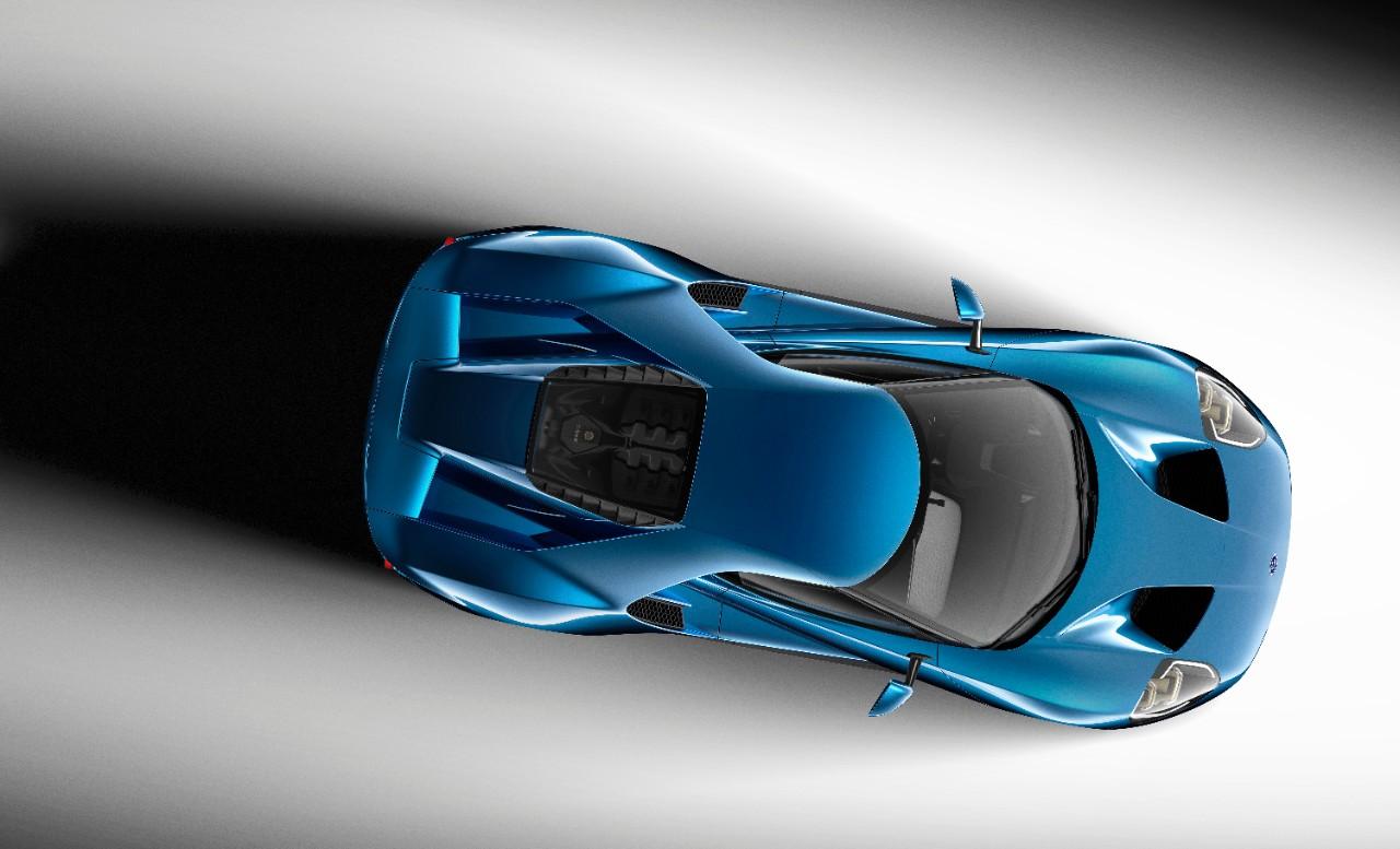 <i>Ford GT</i> 2016 года станет первым автомобилем, оснащённым ветровым стеклом сиспользованием <i>Gorilla Glass</i>.