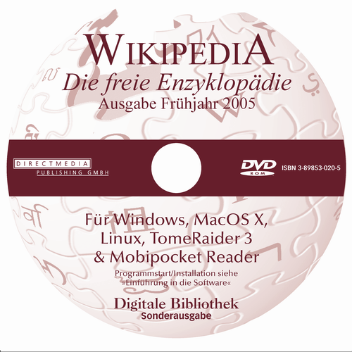 Wikipedia 2005 Label DVD