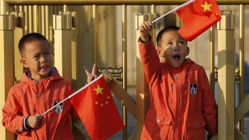 Китайские дети