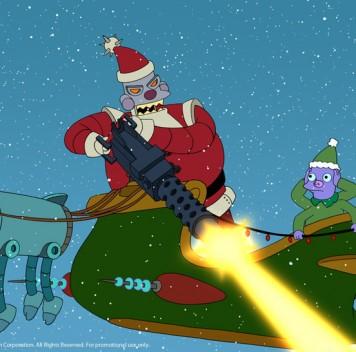 Роботы-олени для Санта-бота уже готовы