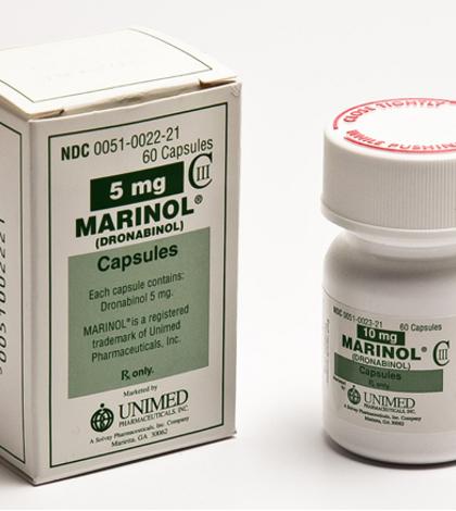 Маринол (дронабинол)— препарат «медицинской марихуаны»