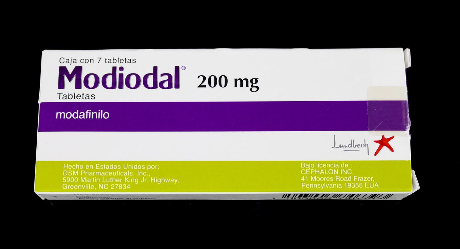 Модиодал (одно из торговых наименований модафинила)
