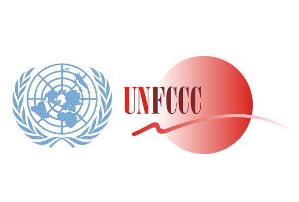 Логотип UN FCCC.