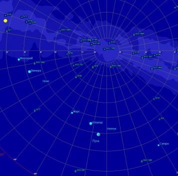 В воскресенье, 31 января, начнётся парад планет