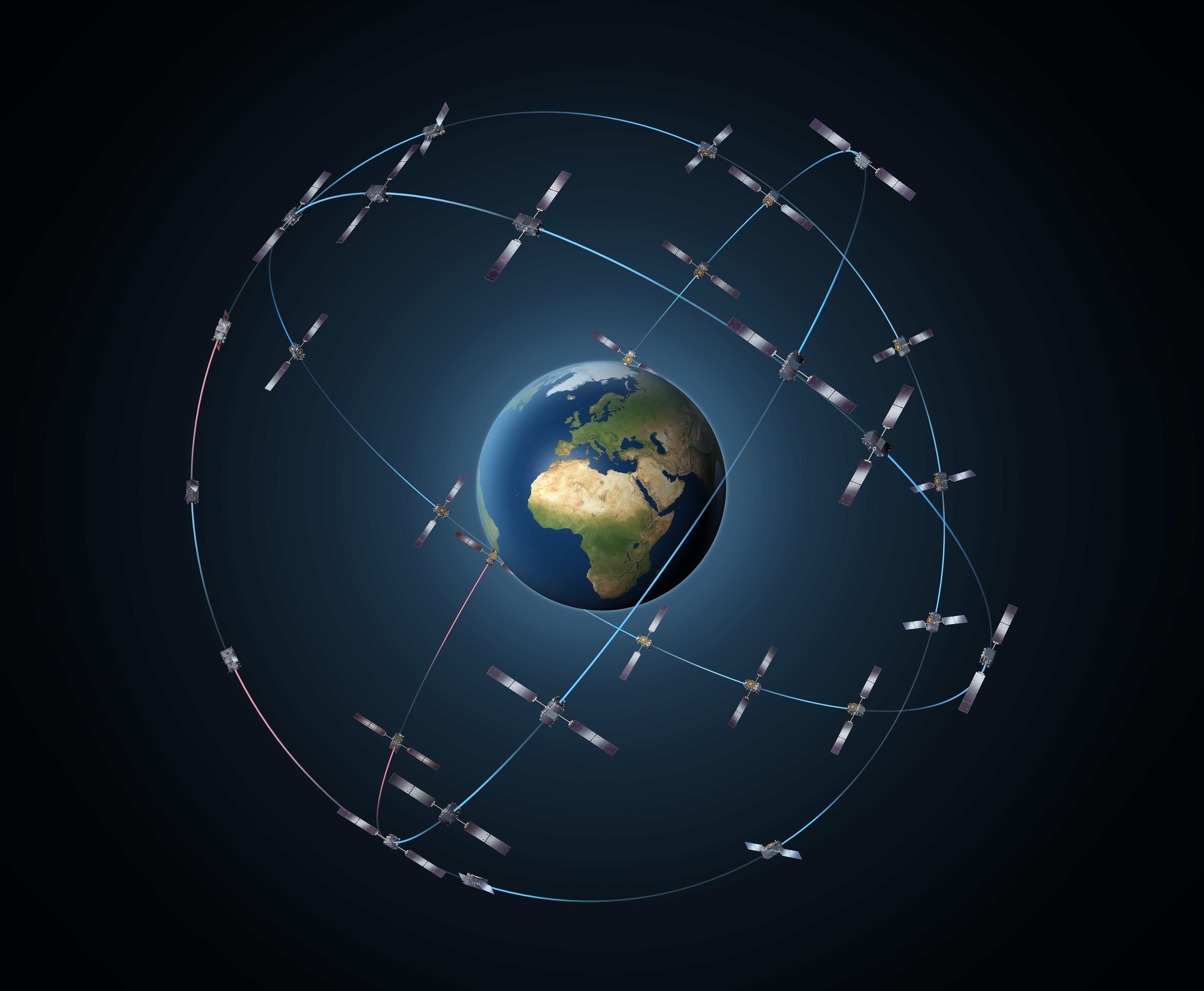 «Галилео» над Землёй