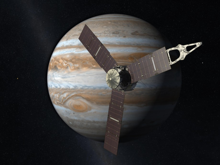 «Юнона» нафоне Юпитера