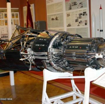 Российский космический аппарат сядерным двигателем
