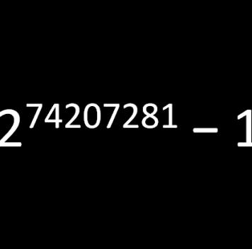 Открыто рекордно большое простое число