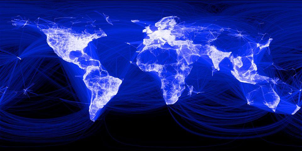 <i>Facebook</i> стремится распространить интернет по всему миру. Первая задача— отобрать места, где вообще хоть кто-то живёт.