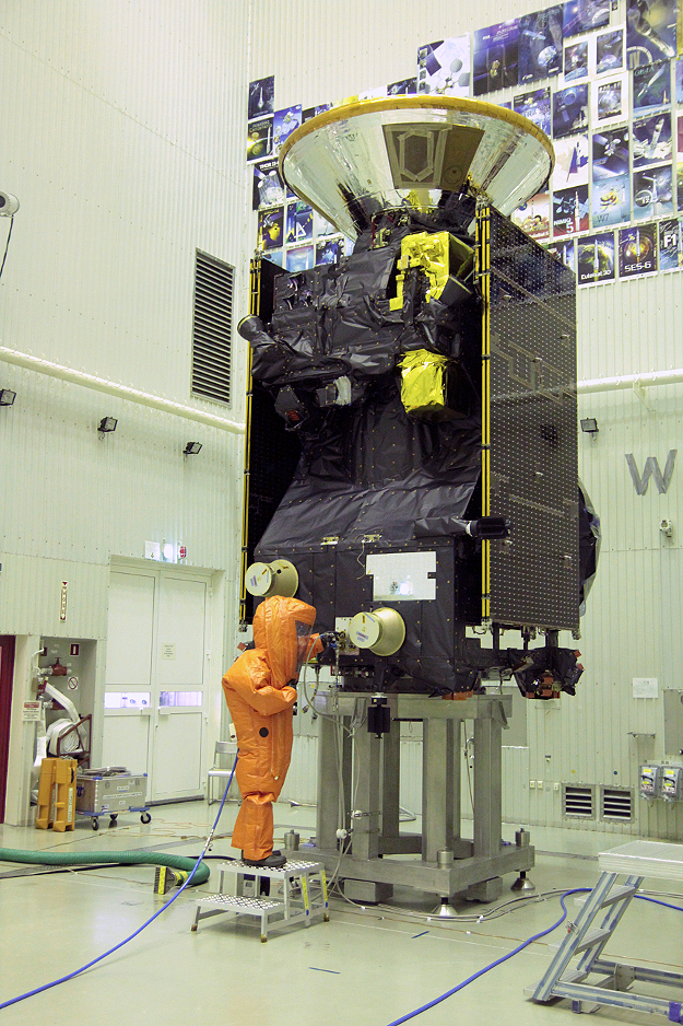 Trace Gas Orbiter заправлен